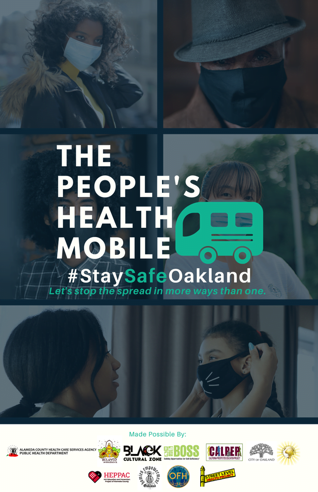 The People's Health mobile vaccinations flyer