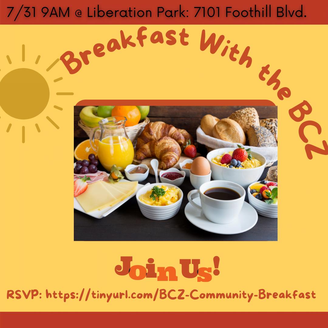 Breakfast W. The BCZ